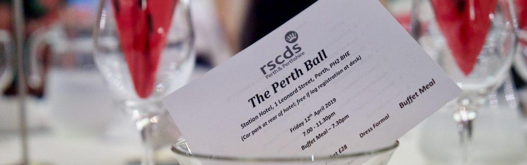 The 2019 Perth Ball
